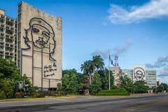 Επανάσταση Square Plaza de Λα Revolucion - Αβάνα, Κούβα Στοκ Φωτογραφίες