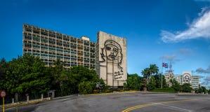 Επανάσταση Square Plaza de Λα Revolucion - Αβάνα, Κούβα Στοκ φωτογραφία με δικαίωμα ελεύθερης χρήσης