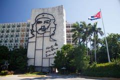 Επανάσταση Square Plaza de Λα Revolucion στην Αβάνα, Κούβα Στοκ φωτογραφία με δικαίωμα ελεύθερης χρήσης