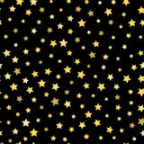 Επανάληψη του υποβάθρου από τα αστέρια πρότυπο άνευ ραφής ελεύθερη απεικόνιση δικαιώματος