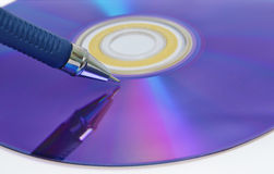 επαναγράψιμος δίσκος στοκ φωτογραφία με δικαίωμα ελεύθερης χρήσης