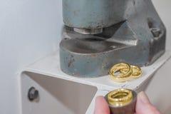 Επαναταξινόμηση του γαμήλιου δαχτυλιδιού 1 στοκ εικόνα με δικαίωμα ελεύθερης χρήσης