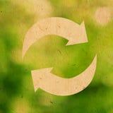 επαναχρησιμοποίηση λογότυπων Στοκ φωτογραφία με δικαίωμα ελεύθερης χρήσης