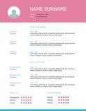 Επαναλάβετε το σχέδιο προτύπων με τους ρόδινους τίτλους Στοκ φωτογραφία με δικαίωμα ελεύθερης χρήσης