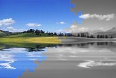 επανοικοδόμηση φύσης Στοκ φωτογραφίες με δικαίωμα ελεύθερης χρήσης