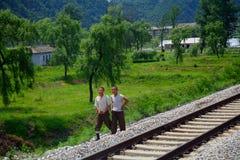 Επαρχία, Βόρεια Κορέα Στοκ φωτογραφία με δικαίωμα ελεύθερης χρήσης