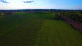 Επαρχία και amish αγροκτήματα Amish από τον κηφήνα φιλμ μικρού μήκους