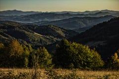 Επαρχία με τα λιβάδια και τα δάση στοκ φωτογραφίες με δικαίωμα ελεύθερης χρήσης