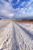 επαρχία σύννεφων χιονώδης Στοκ Εικόνα
