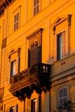 Επαρχία της Ρώμης ηλιοβασιλέματος Στοκ Εικόνες
