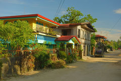 επαρχία φιλιππινέζικη Στοκ εικόνα με δικαίωμα ελεύθερης χρήσης