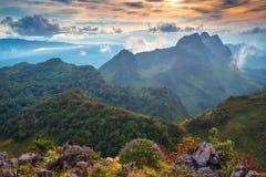 Επαρχία Chiang Mai Luang Chiang Dao Doi Στοκ Φωτογραφίες