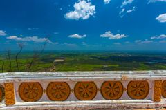 Επαρχία Krabi από την κορυφή του βουνού, Ταϊλάνδη στοκ φωτογραφία με δικαίωμα ελεύθερης χρήσης