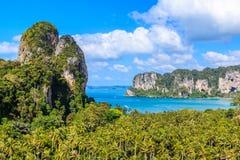 Επαρχία Krabi, Ταϊλάνδη Στοκ φωτογραφίες με δικαίωμα ελεύθερης χρήσης