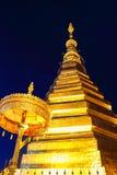 Επαρχία Prathat Cho Hae Prae Wat που καταπλήσσει την Ταϊλάνδη Στοκ Εικόνα
