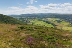 Επαρχία Somerset Αγγλία UK Somerset από τον περίπατο στην όμορφη επαρχία Bossington κοντά σε Exmoor Στοκ Φωτογραφία
