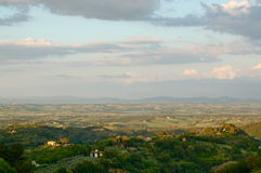 επαρχία tuscan Στοκ Φωτογραφία