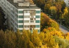 Επαρχιακή ρωσική πόλη Στοκ εικόνες με δικαίωμα ελεύθερης χρήσης