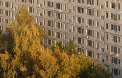 Επαρχιακή ρωσική πόλη Στοκ φωτογραφία με δικαίωμα ελεύθερης χρήσης