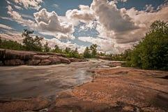 Επαρχιακό πάρκο κληρονομιάς φραγμάτων Pinawa Στοκ Εικόνες