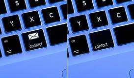 επαφή κουμπιών Στοκ εικόνα με δικαίωμα ελεύθερης χρήσης