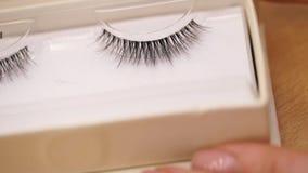 Επεκτάσεις και φρύδια Eyelash eyelashes ψεύτικος φιλμ μικρού μήκους