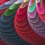 επενδυμένα με φτερά κοχύλ& Απεικόνιση αποθεμάτων