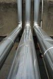 επεξεργασία αγωγών υγραερίου στοκ εικόνες
