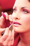 επεξεργασία ομορφιάς makeup Στοκ Εικόνες