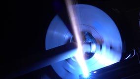 Επεξεργασία πλάσματος της μηχανής λέιζερ μετάλλων απόθεμα βίντεο