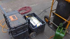 Επεξεργασία λυμάτων, καθαρισμός συστημάτων λυμάτων Στοκ εικόνα με δικαίωμα ελεύθερης χρήσης