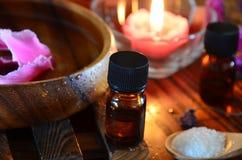 Επεξεργασία Aromatherapy Στοκ φωτογραφίες με δικαίωμα ελεύθερης χρήσης