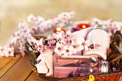 Επεξεργασία Aromatherapy SPA Στοκ Φωτογραφίες