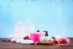 Επεξεργασία SPA και aromatherapy σύνολο Στοκ Εικόνες