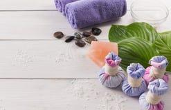 Επεξεργασία SPA και aromatherapy υπόβαθρο Στοκ εικόνες με δικαίωμα ελεύθερης χρήσης