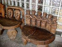 Επεξεργασμένες χέρι καρέκλες στοκ φωτογραφία με δικαίωμα ελεύθερης χρήσης