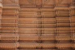 Επεξεργασμένοι τοίχοι - Ινδία Στοκ Εικόνες