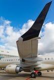 Επιβάτης αεροπλάνου αεριωθούμενων μηχανών Στοκ εικόνα με δικαίωμα ελεύθερης χρήσης