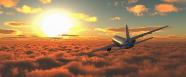 Επιβάτης αεροπλάνου Στοκ εικόνες με δικαίωμα ελεύθερης χρήσης