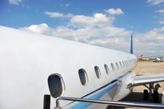 επιβάτης αεροπλάνων Στοκ Φωτογραφία