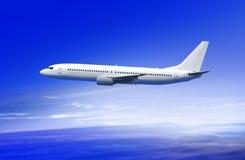 Επιβάτης αεροπλάνου στο σύννεφο Στοκ Εικόνες