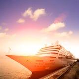 επιβάτης σκαφών της γραμμή&sigma Στοκ Φωτογραφίες