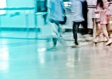 Επιβάτης στο σταθμό μετρό Στοκ Φωτογραφίες