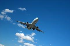επιβατηγό αεροσκάφος μ&epsilo Στοκ Εικόνες