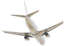 επιβατηγό αεροσκάφος που πετά μακριά το αεριωθούμενο αεροπλάνο Στοκ φωτογραφία με δικαίωμα ελεύθερης χρήσης