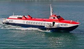 επιβατηγό πλοίο υδροολισθητήρων Στοκ Εικόνα