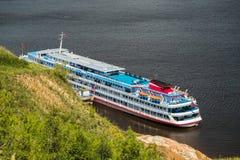 Επιβατηγό πλοίο κρουαζιέρας Στοκ Φωτογραφία