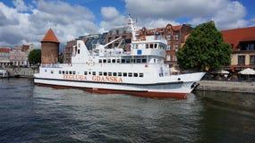 Επιβατηγό πλοίο του Γντανσκ Στοκ Φωτογραφίες