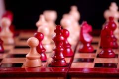 επιβιβαστείτε στο σκάκι στοκ εικόνα
