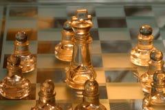 επιβιβαστείτε στο σκάκι στοκ εικόνα με δικαίωμα ελεύθερης χρήσης